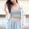 Lisette shorts - heather grey – shopcivilized