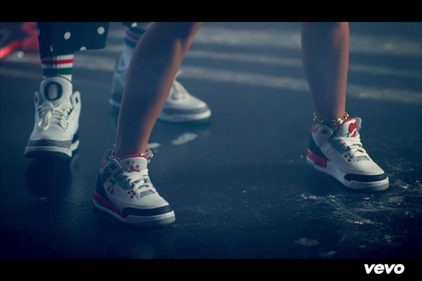 shoes jordans video 23 clip love miley cyrus