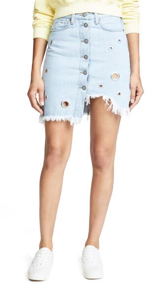 miniskirt light skirt