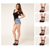 shoes,wedges,shoes black wedges