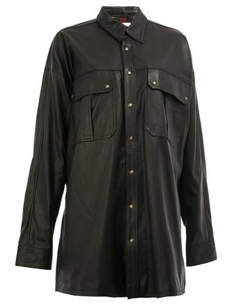 jacket oversized style black