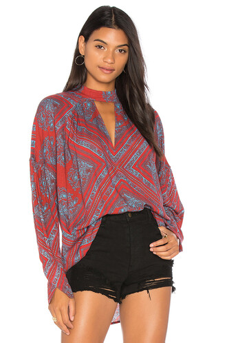 tunic red top