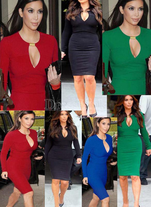 Classic celeb autumn long sleeve women v