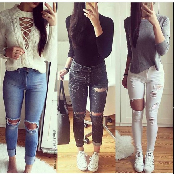 Sweater: outfit, outfit idea, fall outfits, summer outfits, winter ...