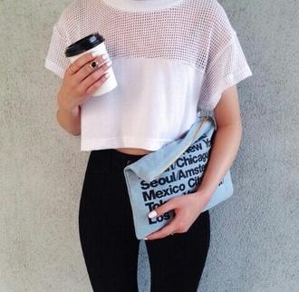 bag suède suede bag suede t-shirt shirt top pant jeans nail polish coffee starbucks ring rings leggings red lime sunday