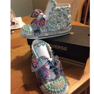 shoes frozen movie bling glitter frozen converse converse high tops converse shoes sneakers pearls bling shoes bow shoes diamonds kids fashion kids shoes fashion