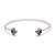 Bea Arrow Bracelet - Labradorite & Black Diamonds