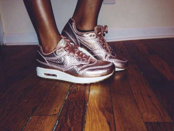 nike air max 1 cut out rose gold