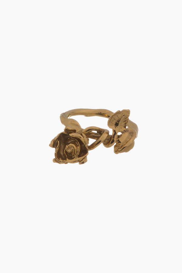 jewels ring aurélie bidermann gold crown ring