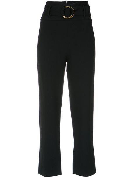 Nk cropped women black pants