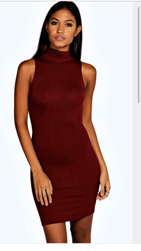 dress turtleneck dress red dress bodycon dress red bodycon party party dress sexy party dresses high neck high neck dress turtleneck sexy dress party outfits summer dress summer outfits girly dress girly cute cute dress classy dress classy cocktail dress elegant dress date outfit birthday dress birthday summer holidays romantic dress romantic summer dress