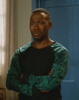 sweater new girl winston bishop lamorne morris sweatshirt