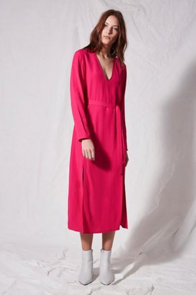 Topshop dress pink