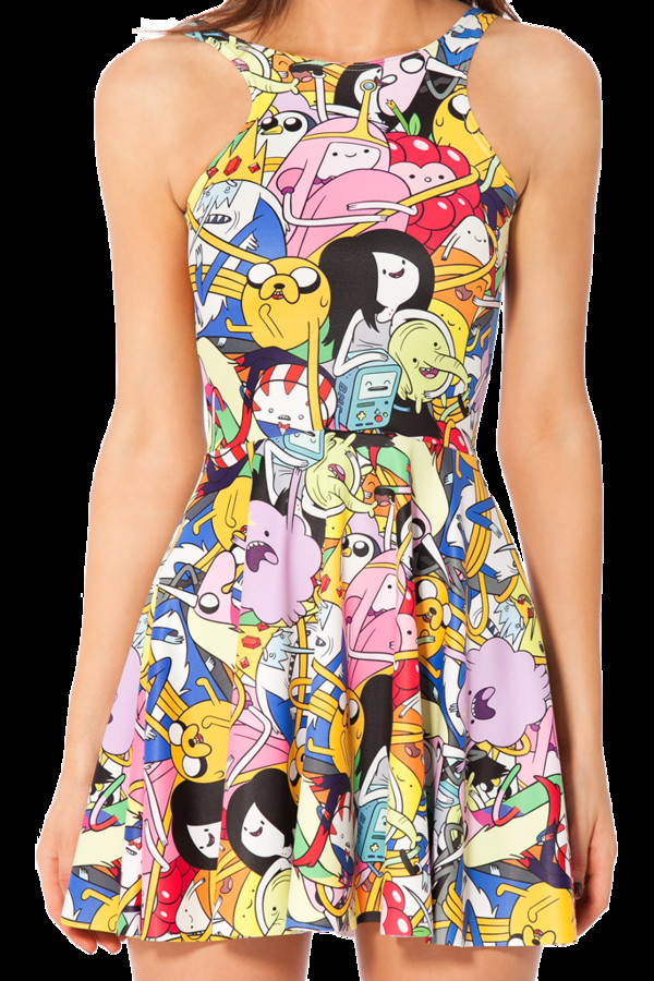 dress adventure time cute dress tumblr