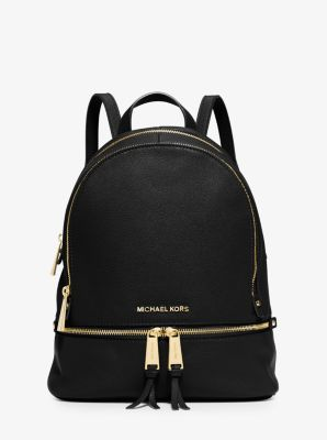 b4c56665f537 Rhea Small Leather Backpack