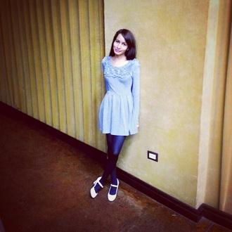 grey dress long sleeve dress forever 21