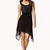 Studded Faux Leather Panel Dress | FOREVER21 - 2073514802