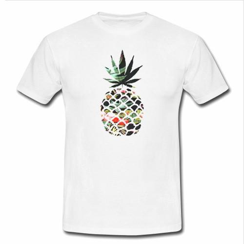 rihanna flower tshirt