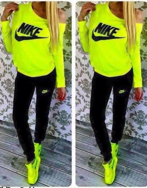nike yellow jumpsuit