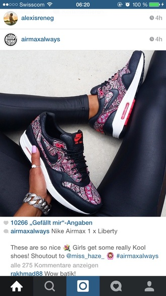 shoes nike airmax red