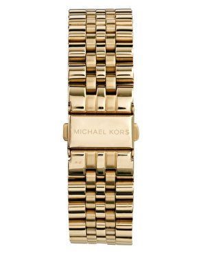 Michael Kors | Michael Kors Watch MK8281 Gold Chronograph at ASOS