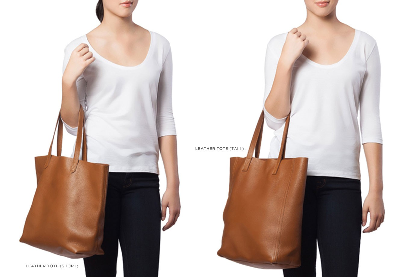 Leather Tote Caramel | Cuyana Shop