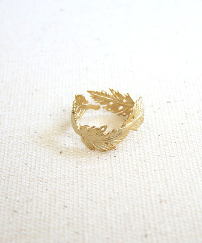 louun — Feather Ring
