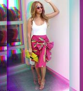 skirt,top,sandals,beyonce,tumblr,clutch,sunglasses,bag,african print