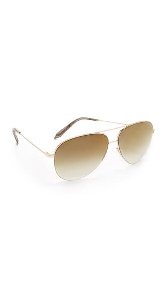 classic sunglasses aviator sunglasses gold copper