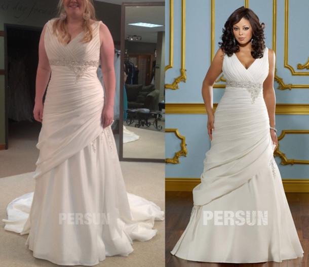 cheap plus size wedding dress under 100, cheap plus size ...