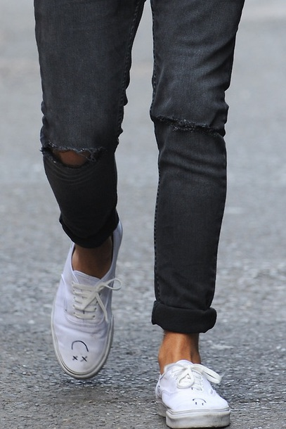 shoes louis tomlinson vans