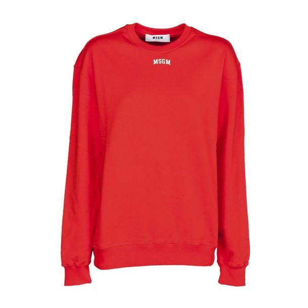 MSGM sweatshirt red sweater