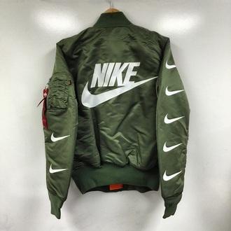 jacket nike bomber green jacket nike bomber jacket bomber jacket army green jacket army green nike