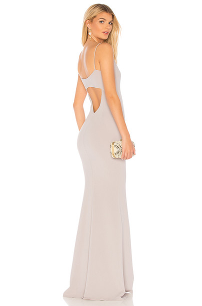 Katie May Bambi Gown in gray