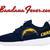 Copy of Custom Cowboys Nike Roshe Run Shoes Navy, #Cowboys, #cowboysnation, #DallasCowboys, by Bandana Fever