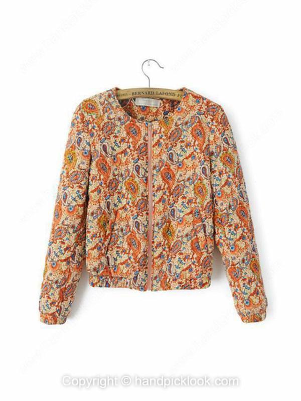floral coat outerwear coat