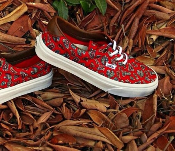 shoes vans sneakers custom vans paisley