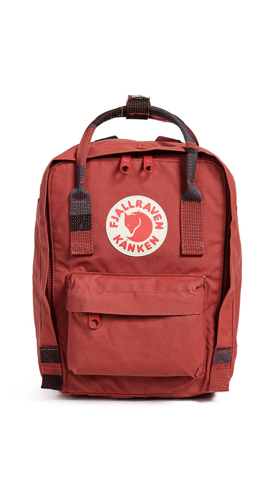 Fjallraven Kanken Mini Backpack in red
