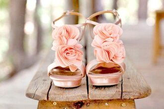 flowers shoes pink sandales