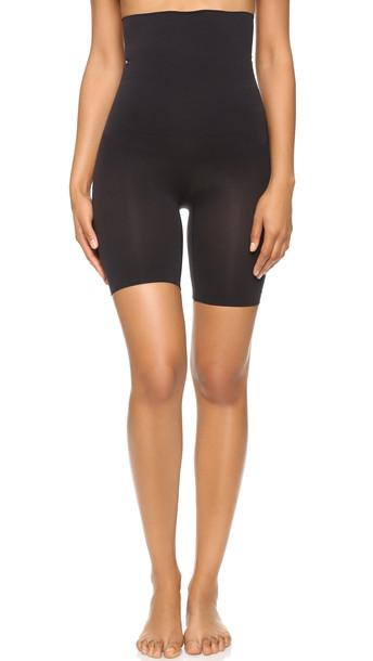 Yummie By Heather Thomson Cleo High Waist Shorts - Black