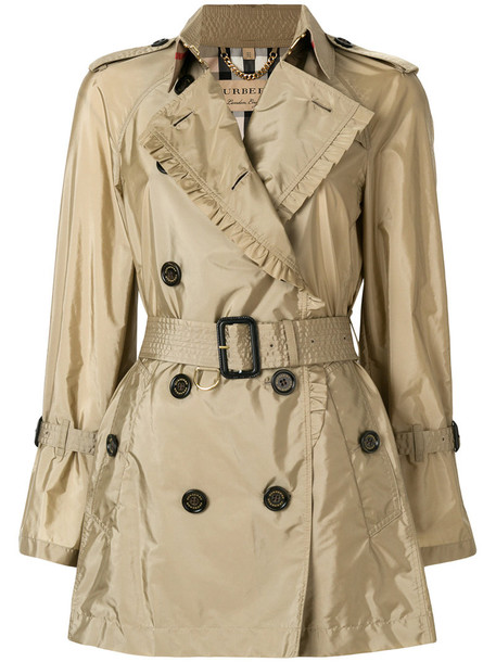 coat trench coat women shell leather nude