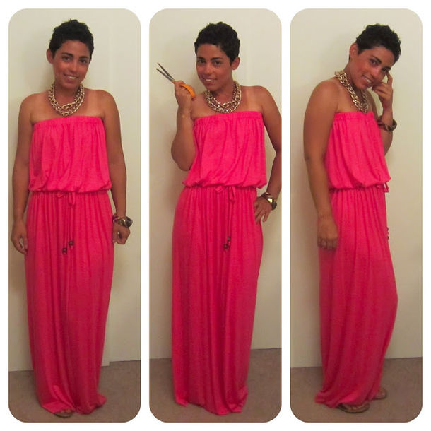 Beach Hot Pink Maxi Dress - Shop for Beach Hot Pink Maxi Dress on ...