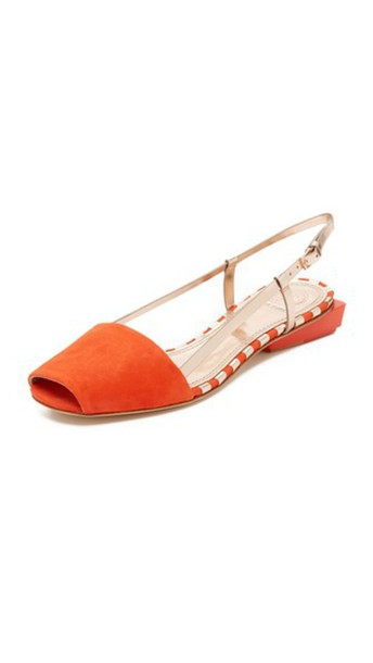 Tory Burch rose gold rose sandals gold red shoes