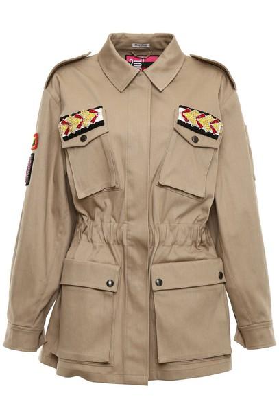 Miu Miu jacket denim jacket denim