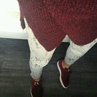 shoes style chic fashion luxury red swag red shoes red sneakers sneakers