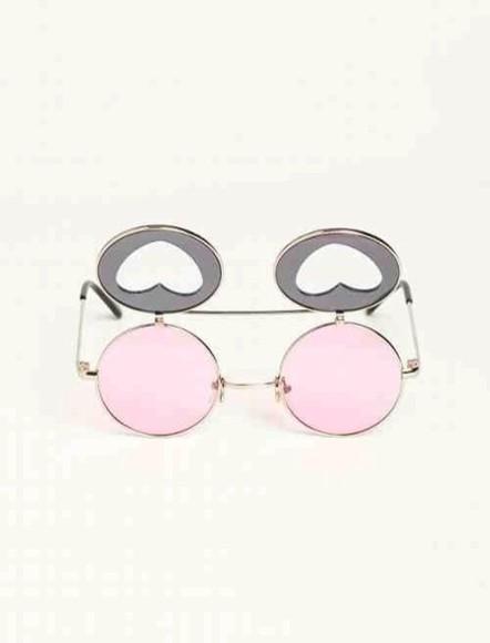 sunglasses jewels vintage kawaii pink pastel soft grunge kawaii grunge pastel pink