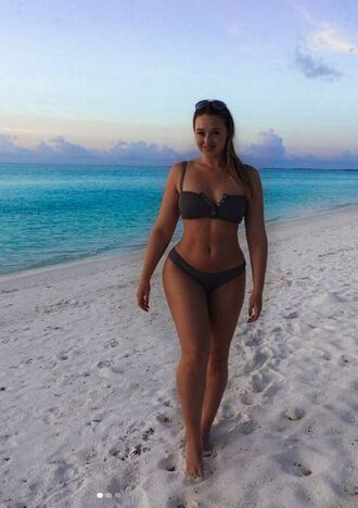 swimwear bikini bikini top iskra lawrence curvy plus size swimwear plus size summer beach bikini bottoms