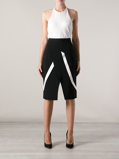 Peter Pilotto 'farah' Pencil Skirt - Smets - Farfetch.com