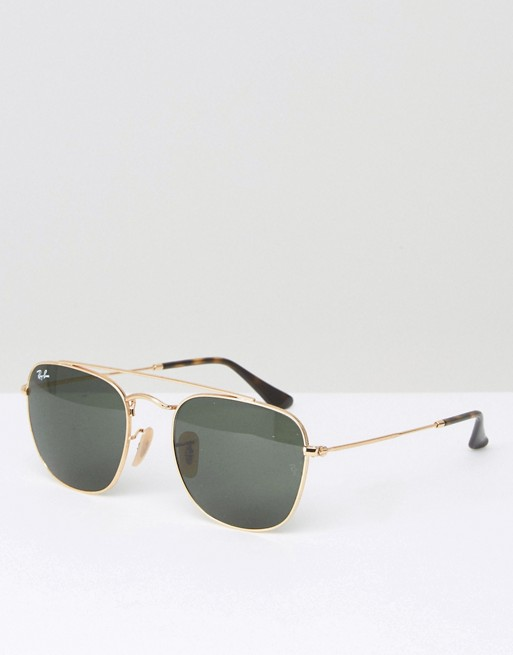 Ray-Ban Aviator Sunglasses 0RB3557 at asos.com