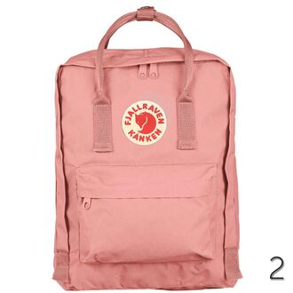 bag backpack back to school fashion style pink trendy cool summer boogzel girl girly girly wishlist pink bag fjallraven kanken